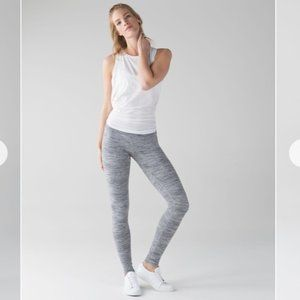 Lululemon Wunder Under Pants Hi Rise Space Dye 8